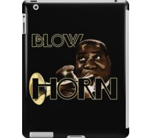 Trumpet - Blow Horn with Bubbles iPad Case/Skin