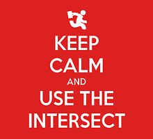 Keep Calm & Use The Intersect Unisex T-Shirt