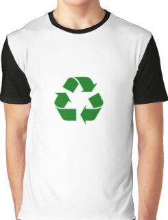 Recycling Sticker - Recycle Logo Decal Graphic T-Shirt