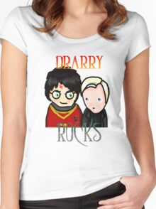 Drarry Rocks Women's Fitted Scoop T-Shirt