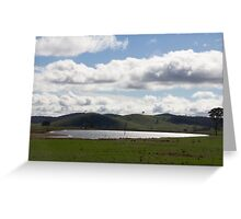Serene landscape Greeting Card