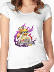 I MAIN DEDEDE Women's Fitted Scoop T-Shirt
