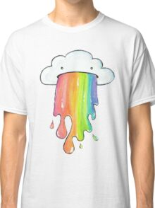 cute rainbow cloud  Classic T-Shirt