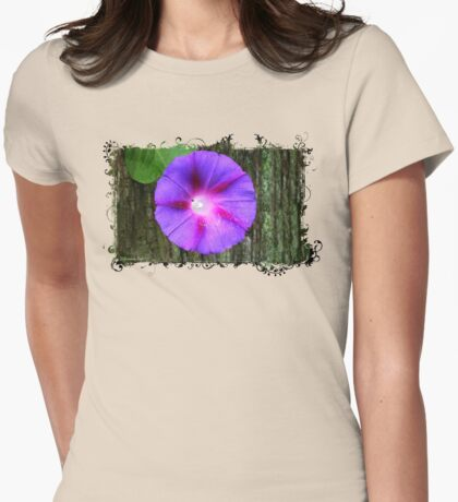 Entering the Forest of Enchantment Womens Fitted T-Shirt