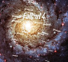 Fallout 4 Atomic Bombs and Galaxy by LightPopArt