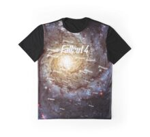 Fallout 4 Atomic Bombs and Galaxy Graphic T-Shirt