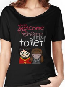 Toilet Women's Relaxed Fit T-Shirt