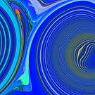 Blue Swirls Photo Experiment by ange2