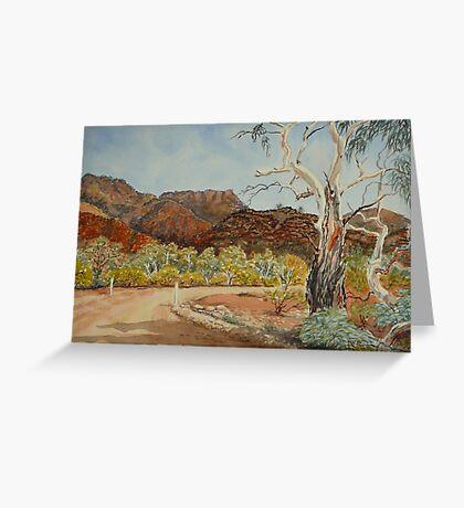 Vulkathuna, Gamon Ranges, Flinders Ranges Greeting Card