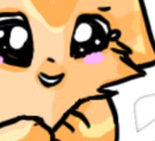 Kitty Tee Sticker