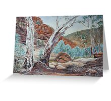 Weetootla Gorge, Gamon Ranges, Flinders Ranges Greeting Card