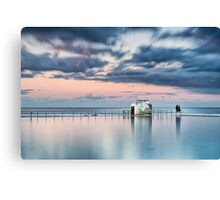 Merewether Ocean Baths - End of Day Canvas Print