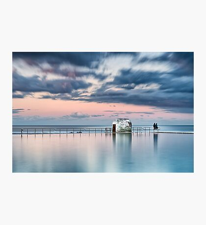 Merewether Ocean Baths - End of Day Photographic Print