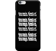 Norman Reedus/Cheap Trick iPhone Case/Skin