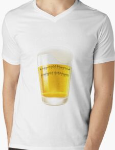 The one beer Mens V-Neck T-Shirt