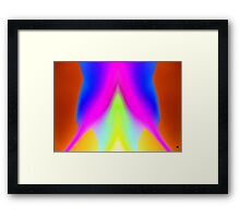 I am the PRESENT Framed Print