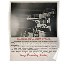 Warding off a night attack 002 Poster