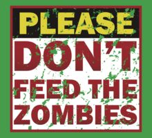 Don't feed zombies Kids Clothes