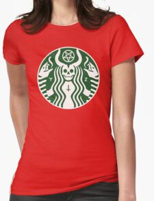 Red Cup Womens Fitted T-Shirt