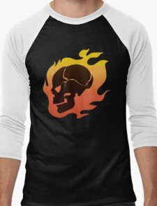 Persona 4: Kanji Tatsumi Summer Outfit Skull Men's Baseball ¾ T-Shirt