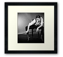 I dare you! Framed Print