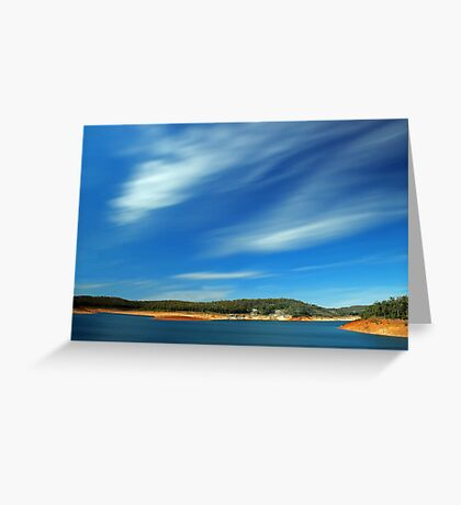 Canning Dam - Western Australia  Greeting Card