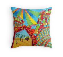 358 - MIRAGE - DAVE EDWARDS - COLOURED PENCILS - 2012 Throw Pillow