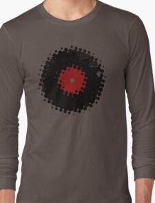 Grunge Vinyl Records Retro Vintage 50's Style T-Shirt! Long Sleeve T-Shirt