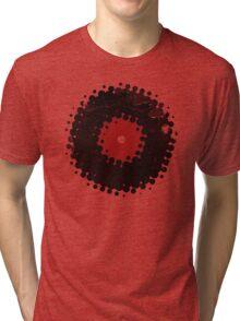 Grunge Vinyl Records Retro Vintage 50's Style T-Shirt! Tri-blend T-Shirt
