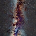 The Milky Way: from Scorpio and Antares to Perseus by guidomonta