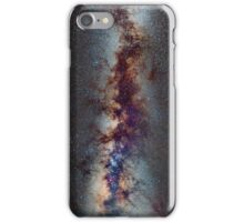 The Milky Way: from Scorpio and Antares to Perseus iPhone Case/Skin
