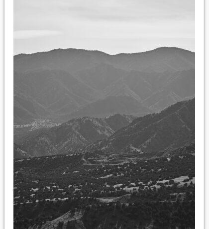 Canon City Hills  Sticker