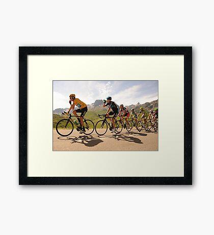 Team Sky Framed Print