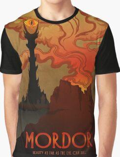Mordor Travel Graphic T-Shirt