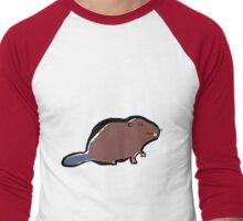 beaver Men's Baseball ¾ T-Shirt