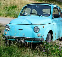 Classic Fiat 500 F by Andrew Jones