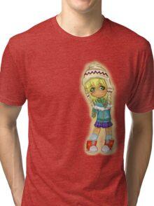 Cute Chibi Tri-blend T-Shirt