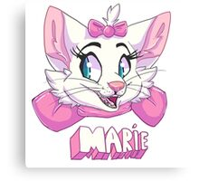 Marie - With Name Canvas Print