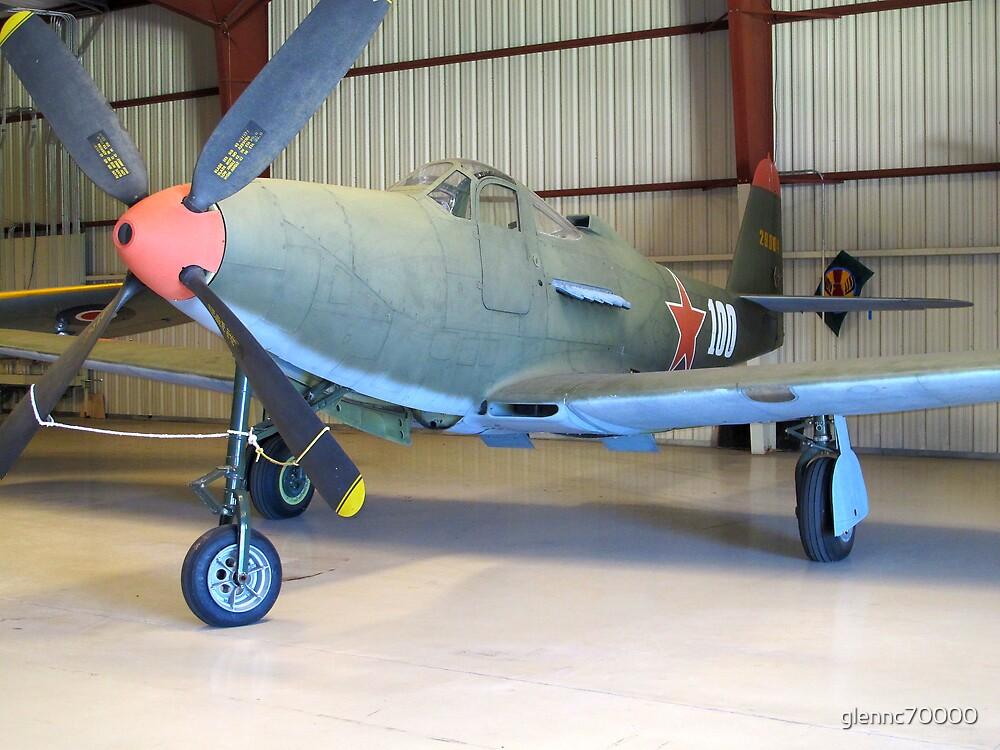 Bell P-39 Aircobra - On Display by Glenn Cecero