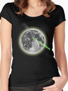 CHA....(if you remember this you are awesome) Women's Fitted Scoop T-Shirt