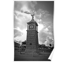 Semaphore Foreshore - Clock Tower Poster