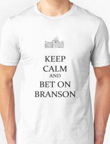 bet on Branson (black) Unisex T-Shirt