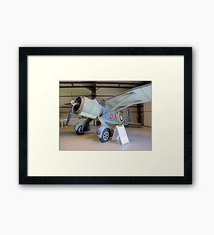 Port Side View - Canadian Lysander Aircraft Framed Print