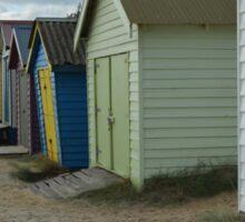Beach Huts , Melbourne  Sticker