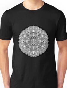 Mandala 47 Black and White T-Shirts & Hoodies Unisex T-Shirt