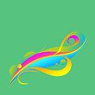 Rainbow #1 by Dufranne Thomas