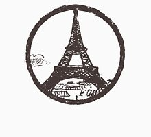 Eiffel Tower Peace Sign Unisex T-Shirt