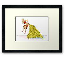Gwen Stefani - Bananananas Framed Print