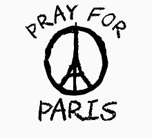 Pray for Paris Unisex T-Shirt