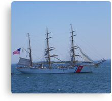 """US Coast Guard - Tall Ship """"Eagle"""" Canvas Print"""
